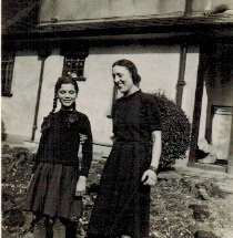 Theodore with his daughter Alexia, who is invisible in the Durrell memoirs