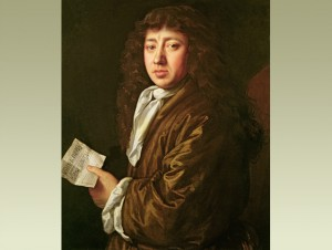 Samuel Pepys at the time of the Great Fire (shortly before he meets Camille), by John Hayls