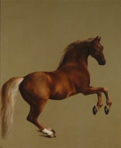 Whistlejacket, George Stubbs (1724-06), 1762. A portrait of the stallion Whistlejacket (1749 - before 1782)